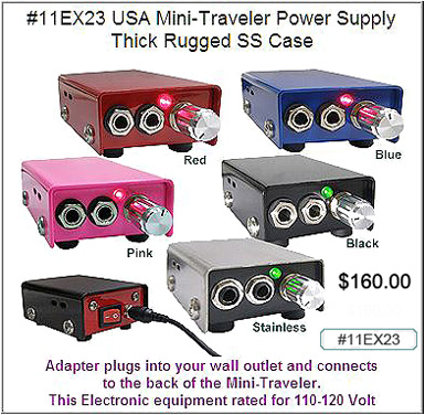 11EX23 Mini-Traveler Power Supply MAIN