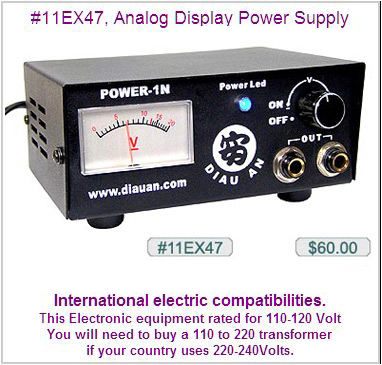 11EX47, Diau An Analog Display Power Supply MAIN
