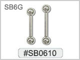 SB0610, 6 Gauge Barbell Atlantic THUMBNAIL
