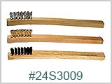 24S3009 Wood Handle Brushes