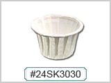 24SK3030 Pleated Paper Soufflé Cups