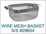 29B54, S/S Wire Mesh Basket