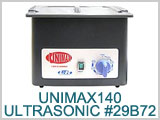 29B72, Unimax140 Ultrasonic Cleaner