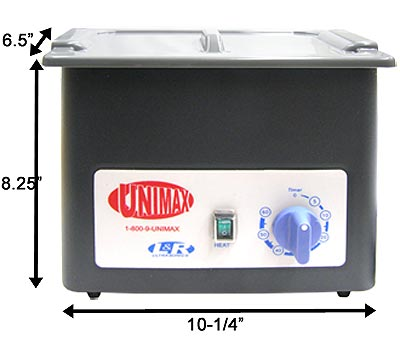 29B72, Unimax140 Ultrasonic Cleaner MAIN