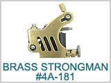 4A181 Solid Brass Strongman