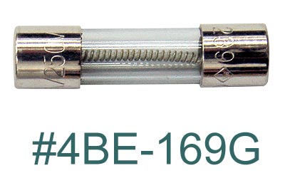 4BE169G, Fuse for Unimax Ultrasonics MAIN