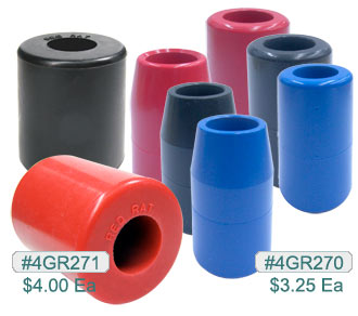 4GR270, Red Rat Rubber Grips MAIN
