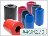 4GR270, Red Rat Rubber Grips THUMBNAIL