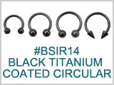 BSIR14 Black Titanium Coated CIrcular