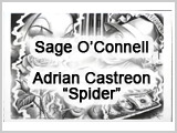 "KFLA0153 Artwork of O'Connell and ""Spider"" THUMBNAIL"