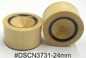24mm DSCN3731 Wood Plug Pairs MAIN