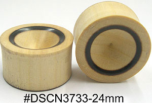 24mm DSCN3733 Wood Plug Pairs MAIN