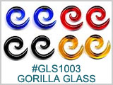 GLASS1003, Spiral Glass by Gorilla Glass THUMBNAIL