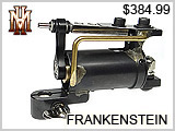 HM3-Frankenstein Tattoo Machines THUMBNAIL
