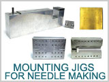 Jigs for Needle Making, Soldering