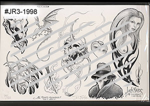 Jack Rudy Signed 1998 Flash Sheets MAIN