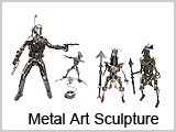 MAS04 Trooper Metal Art Sculpture