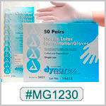 MG1230, Sterile Latex Examination Gloves