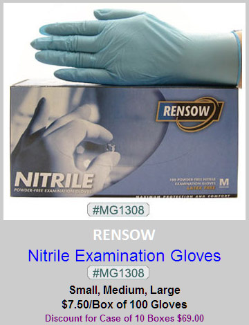 MG1308, Rensow Nitrile Gloves