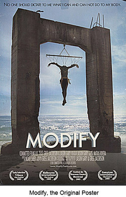 MODIFY, The Poster MAIN