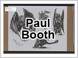 Paul Booth Signed 1992 Flash Sheets THUMBNAIL