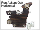 Ron Ackers Wood Tattoo Machine H
