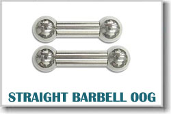 00 Gauge Body Piercing Barbells