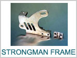 Strongman Tattoo Machine Frame # 4a-147, Frame, Natural Iron_THUMBNAIL