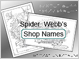Spider Webb Shop Names