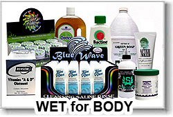 "Supplies ""Wet"" for Body"