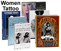 6 Book Set Women and Tattoo