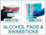 MK1114,MK1115,MK1116- Alcohol Pads & Swabsiticks THUMBNAIL
