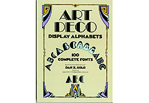 100 Art Deco  Alphabets Complete Fonts THUMBNAIL