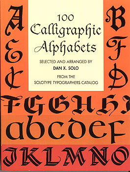100 Calligraphic Alphabets Complete Fonts MAIN