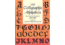 100 Calligraphic Alphabets Complete Fonts