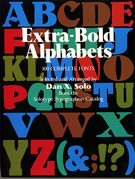100 Extra-Bold Display Alphabets Complete Fonts