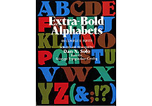 100 Extra-Bold Display Alphabets Complete Fonts THUMBNAIL