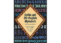 100 Gothic and Old English Alphabets Complete Fonts THUMBNAIL