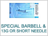 Special-Barbells with Needle