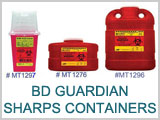MT1276, BD Guardian Sharps Containers