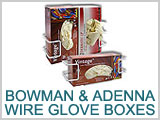 Bowman and Adenna Wire Glove Dispensers