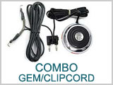 11EX327 Combo Gem Foot Switch Spring Clip Cord