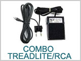 11EX315 Combo Footswitches with Cord