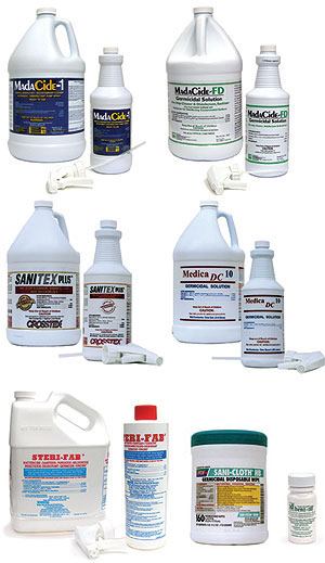 Hard Surface Disinfectants