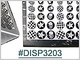 DISP3203, Stainless Steel Ear Plug Display THUMBNAIL