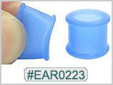 EAR0223 Red EAR0224 Blue Silicone