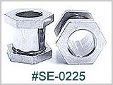 SE0225 Hex Tunnel Threaded Screw Back