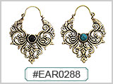 EAR0288 Brass Ear-Wire Design THUMBNAIL