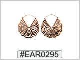EAR0295 Polished Copper Ear Wire THUMBNAIL