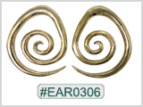 #EAR0306 Nickel-free Brass Earring Weights